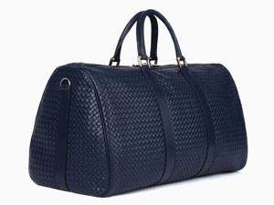 Large Weekend Bag in Blue